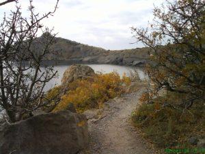 Голицынская тропа, вид на мыс Капчик