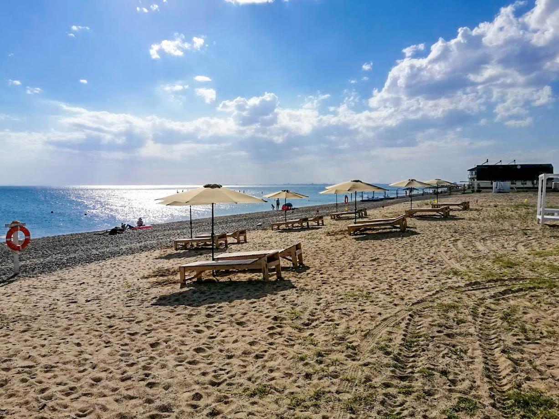 это фото пляжей между евпаторией и саки соломон