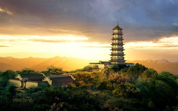 Архитектура азиатских нег