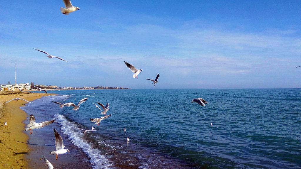 Евпатория-пляж-красиво