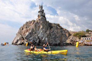 Крым Гаспра Ласточкино гнездо