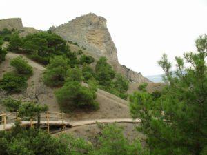Новый Свет, вид на гору Орёл, Коба-Кая