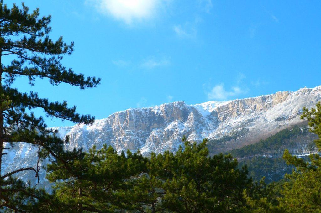 В Крыму есть горы