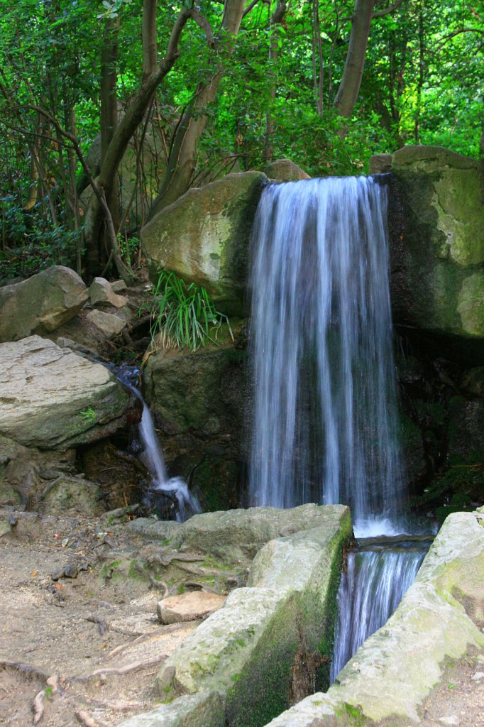 Водопад в Алупке